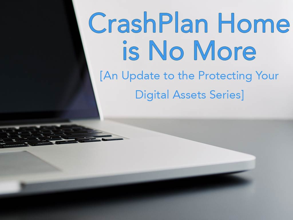 CrashPlan is No More - The Efficient Dad