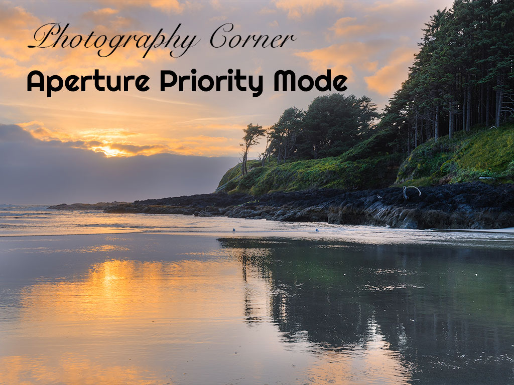Photograhy Corner Aperture Priority Mode