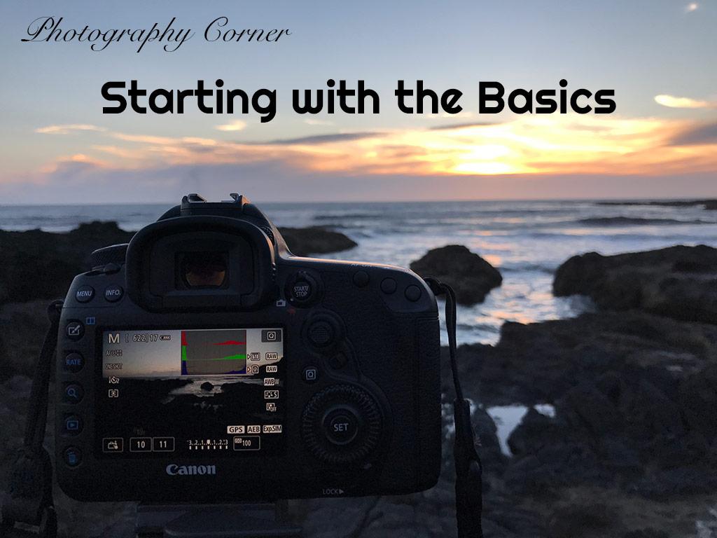 Photography Corner – Starting with the Basics